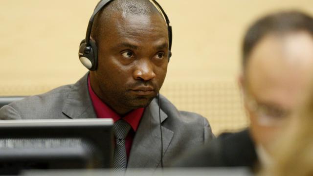 L'ancien chef de guerre congolais Germain Katanga, le 15 mai 2012 lors de son procès à la Cour pénale internationale de La Haye [MICHAEL KOOREN / ANP/AFP/Archives]