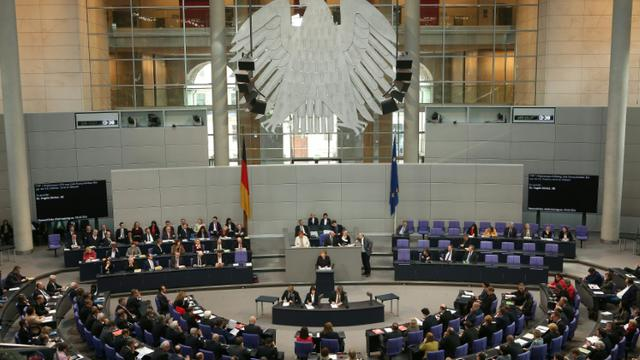 Les députés allemands ont adopté, le 2 juin 2016, une résolution reconnaissant le génocide arménien, un vote contesté avec véhémence par la Turquie [Adam BERRY / AFP]