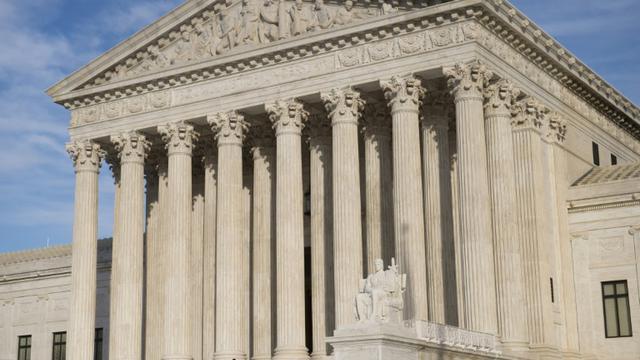 La Cour suprême des Etats-Unis photographiée le 31 janvier 2017 [SAUL LOEB / AFP]