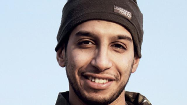 Photo non datée d'Abdelhamid Abaaoud [ / DABIQ/AFP/Archives]