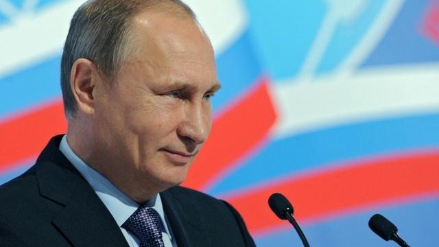 Le président russe Vladimir Poutine, le 5 novembre 2015 à Moscou [MIKHAIL KLIMENTYEV / RIA NOVOSTI/AFP/Archives]