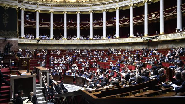 Le parlement à Paris, le 23 juillet 2014 [Martin Bureau / AFP/Archives]