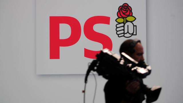 Le logo du Parti socialiste, le 27 octobre 2012 à Toulouse [Eric Cabanis / AFP/Archives]