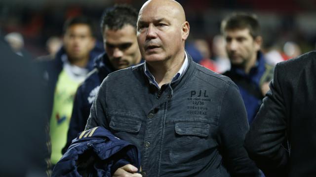 José Anigo, le 26 janvier 2014 au stade Louis-II à Monaco [VALERY HACHE / AFP/Archives]
