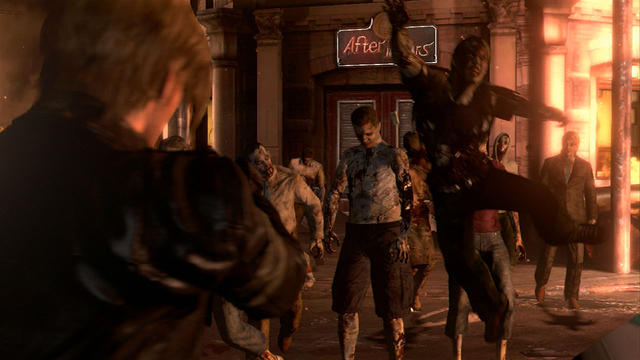 Une image de Resident Evil 6.