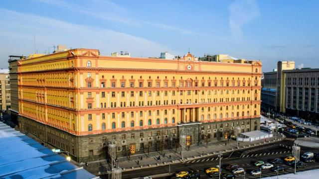 Le quartier général du FSB (services de sécurité russes), à Moscou, photographié le 2 mars 2018 [Mladen ANTONOV / AFP/Archives]