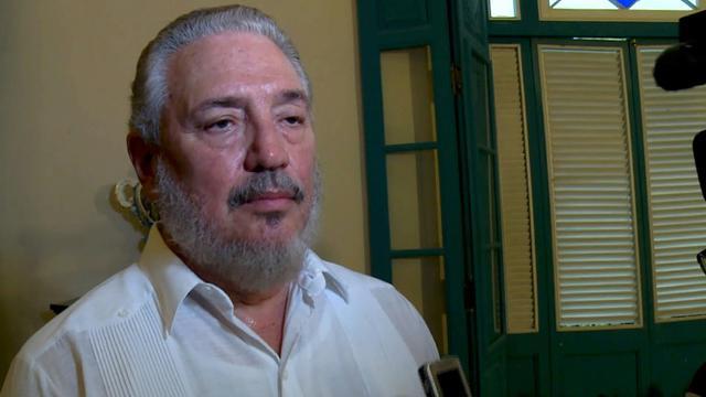 Fidel Castro Diaz-Balart, fils aîné de l'ex-président Fidel Castro et neveu de l'actuel président cubain s'est suicidé le 2 février 2018 [ADALBERTO ROQUE / AFP/Archives]