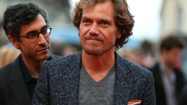 Le réalisateur Ramin Bahrani (g) et l'acteur Michael Shannon à Deauville le 5 septembre 2015 [Charly Triballeau / AFP]