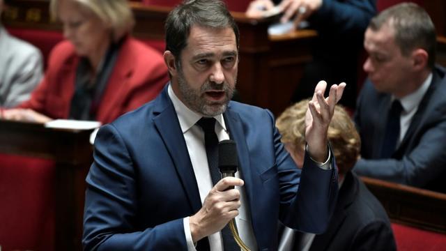 Christophe Castaner le 15 janvier 2019 à l'Assemblée nationale [STEPHANE DE SAKUTIN / AFP/Archives]
