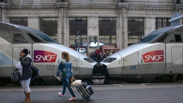 Un TGV à la gare Saint-Jean de Bordeaux, le 9 juillet 2012 [LOIC VENANCE / AFP/Archives]