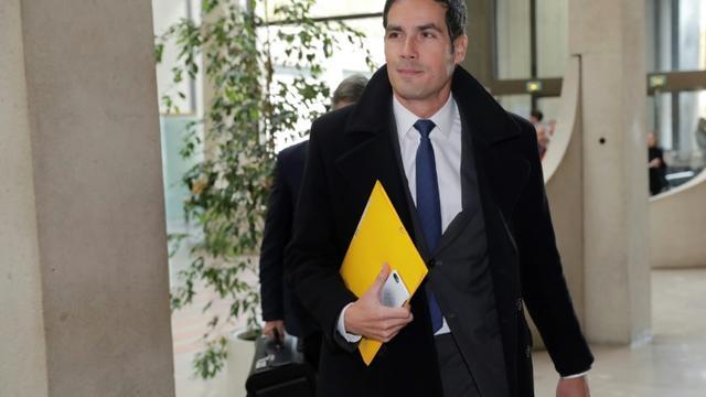 Le PDG de Radio France Mathieu Gallet à son arrivée au tribunal de Créteil le 16 novembre 2017 [Thomas SAMSON / AFP/Archives]