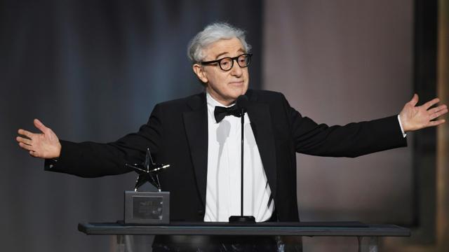 Woody Allen le 8 juin à un gala en l'honneur de Diane Keaton [KEVIN WINTER / GETTY IMAGES NORTH AMERICA/AFP/Archives]