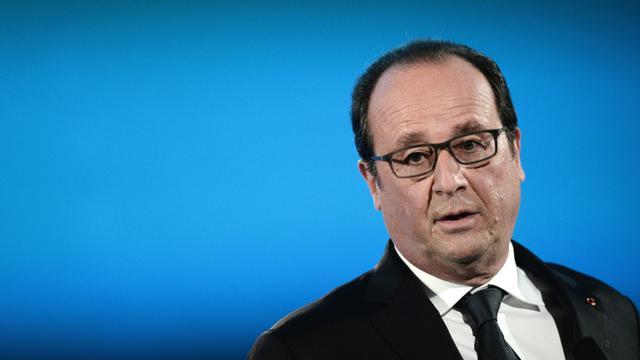 Le président François Hollande fait un discours à Nancy le 29 octobre 2015 [FREDERICK FLORIN / AFP]