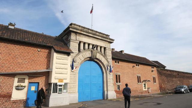 La maison d'arrêt de Loos (Nord) où est décédé un détenu à la suite de plusieurs crises d'épilepsie [Denis Charlet / AFP/Archives]