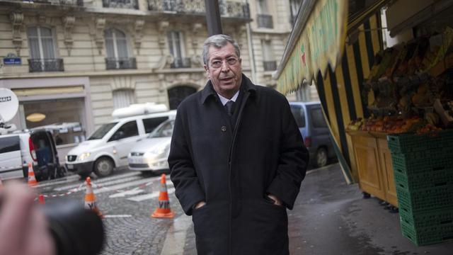 Le maire UMP de Patrick Balkany à Paris le 29 janvier 2014 [Fred Dufour / AFP/Archives]