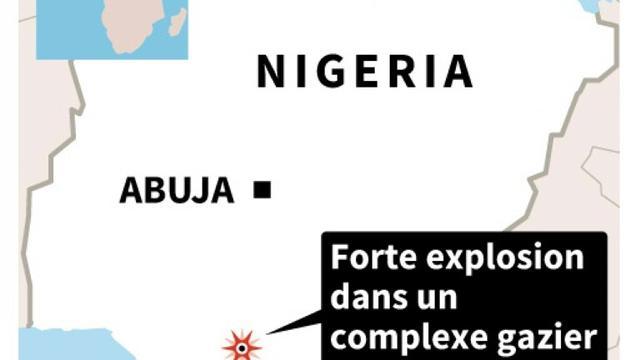 La violente explosion s'est produite dans un complexe gazier d'Inter Corp Oil Limited gas, le 24 décembre 2015. [AFP / AFP]