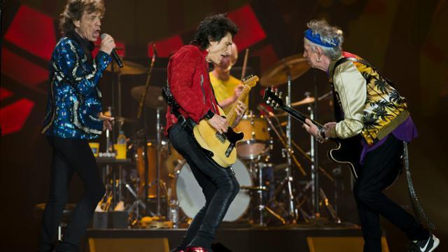 Les Rolling Stones en concert à Sao Paulo, le 24 février 2016 [NELSON ALMEIDA / AFP/Archives]