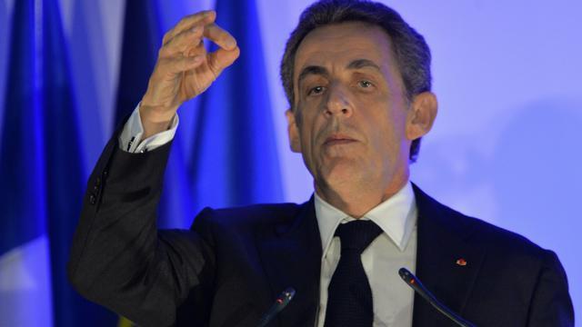 Nicolas Sarkozy le 9 novembre 2015 à Andard  [JEAN-FRANCOIS MONIER / AFP/Archives]