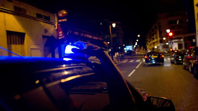 Des policiers de la BAC en intervention de nuit [Fred Dufour / AFP/Archives]