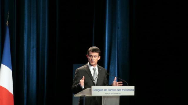 Manuel Valls à Paris, le 29 octobre 2015 [JACQUES DEMARTHON / AFP/Archives]