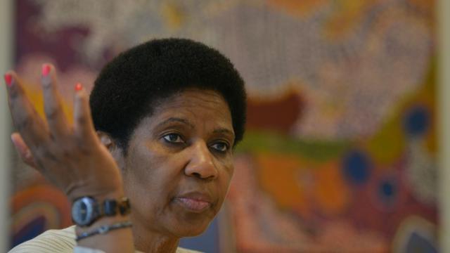 La responsable de la condition féminine à l'ONU, Phumzile Mlambo-Ngcuka, le 29 août 2014 à Sydney [PETER PARKS / AFP/Archives]