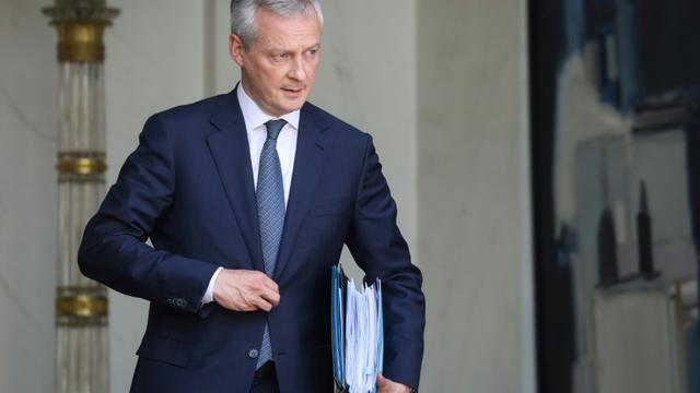Le ministre des Finances, Bruno Le Maire, le 22 mai 2019 à Paris  [ludovic MARIN / AFP/Archives]