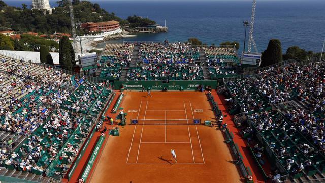 Le court des Princes au tournoi de Monte-Carlo le 14 avril 2014  [Valery Hache / AFP]
