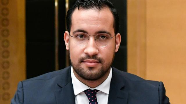Alexandre Benalla devant la commission du Sénat à Paris, le 19 septembre 2018 [Bertrand GUAY / AFP/Archives]