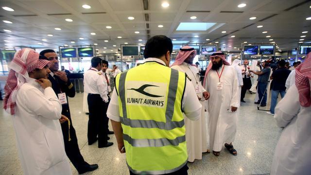 A l'aéroport de Koweït, le 24 octobre 2011 [Yasser al-Zayyat / AFP/Archives]