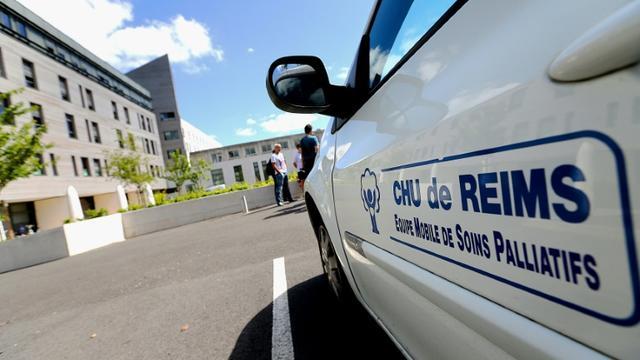 Le CHU de Reims, où Vincent Lambert est hospitalisé [FRANCOIS NASCIMBENI / AFP/Archives]