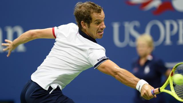Richard Gasquet n'a jamais été en mesure d'inquiéter Roger Federer en quarts de finale de l'US Open.