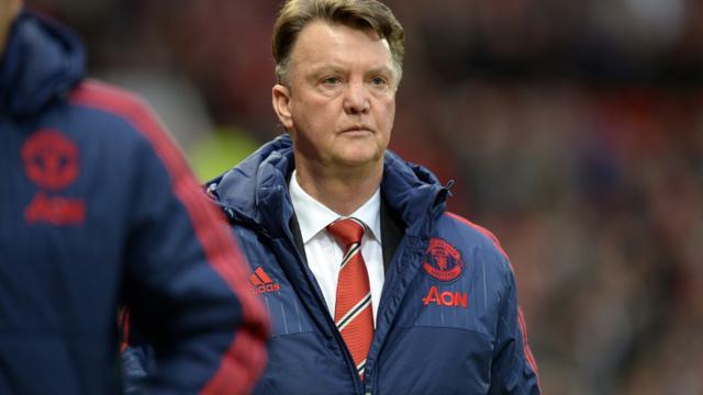 L'entraîneur de Manchester United Louis van Gaal, lors d'un match contre Norwich, 19 décembre 2015 à Old Trafford [OLI SCARFF / AFP]