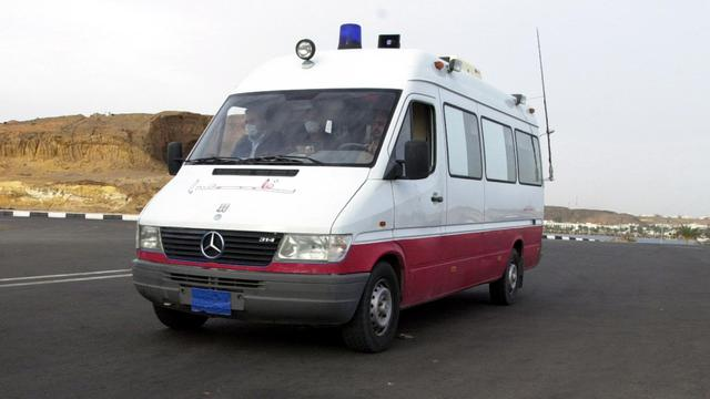 Une ambulance en Egypte [Mohammed Ezz / AFP/Archives]