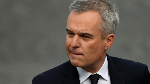 Le ministre de l'Environnement français François de Rugy le 14 juillet 2019 à Paris [Lionel BONAVENTURE / AFP/Archives]