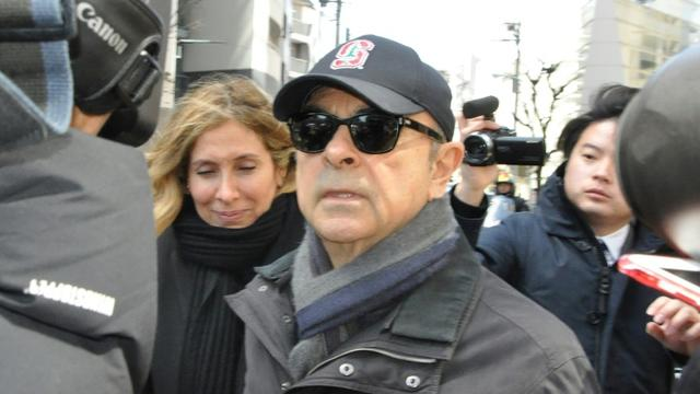 Carlos Ghosn à Tokyo, le 9 mars 2019 [JIJI PRESS / JIJI PRESS/AFP]