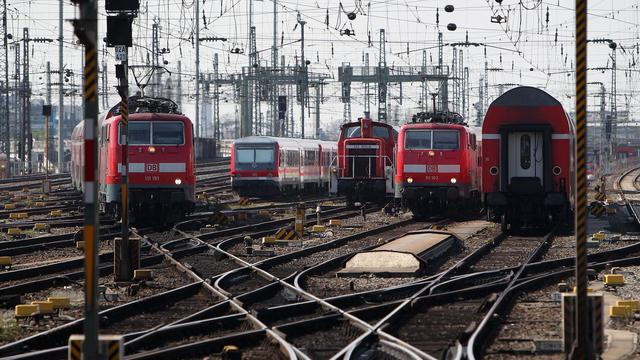 Vue de la gare de Francfort, le 27 mars 2014 [Daniel Roland / AFP/Archives]
