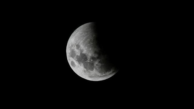 Eclipse de lune le 21 janvier 2019 en Argentine. [RONALDO SCHEMIDT / AFP/Archives]