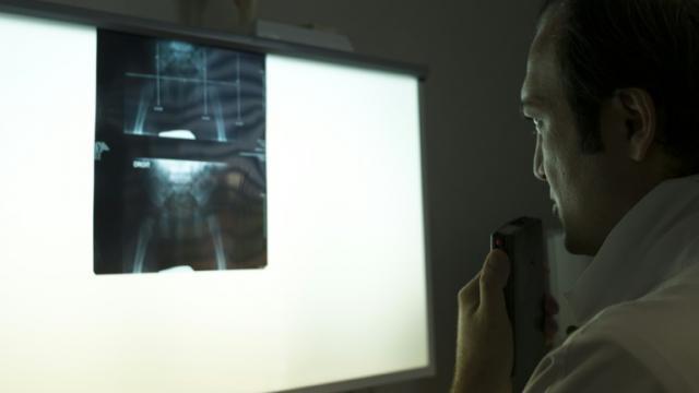 L'électrosensibilité se traduirait notamment par des maux de tête et des picotements. [Fred Dufour / AFP/Archives]