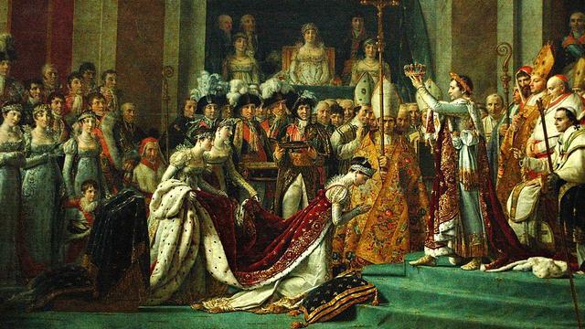 Le Sacre de Napoléon, en 1804, par Jacques-Louis David