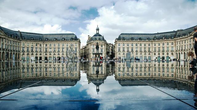 La Place de la Bourse, à Bordeaux