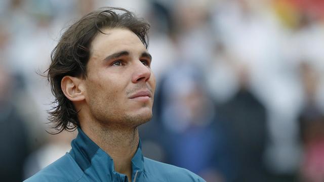 Rafael Nadal après sa victoire à Roland-Garros le 9 juin 2013 [PATRICK KOVARIK / AFP Photo]