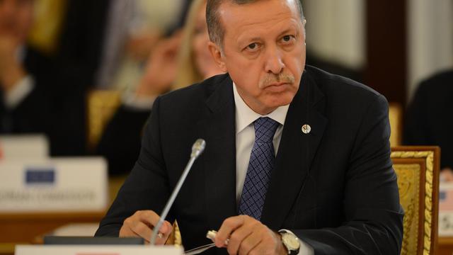 Le Premier ministre turc Recep Tayyip Erdogan au sommet du G20 à Saint-Pétersbourg, le 5 septembre 2013 [Vladimir Astapkovich / G20russia/AFP/Archives]