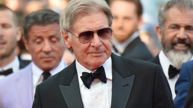 Harrison Ford au festival de Cannes le 18 mai 2014 [Alberto Pizzoli / AFP/Archives]
