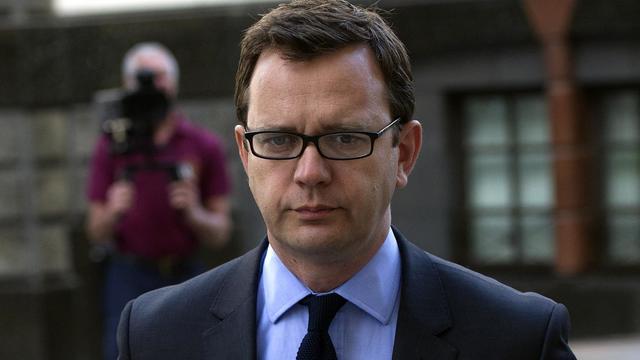 L'ancien rédacteur en chef du défunt tabloïd News of the World Andy Coulson, à Londres, le 11 juin 2014 [Carl Court / AFP/Archives]