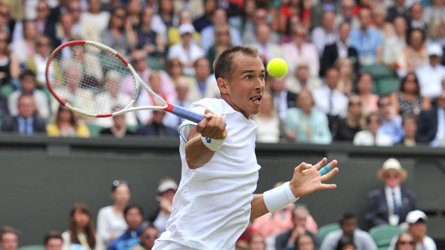 Le joueur tchèque Lukas Rosol, ici lors du tournoi de Wimbledon,le 26 juin 2014 [Glyn Kirk / AFP/Archives]