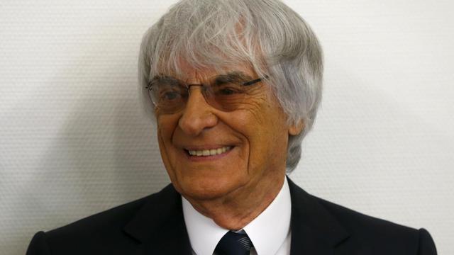 Bernie Ecclestone au tribunal de Munich le 5 août 2014 [Michael Dalder / Pool/AFP]