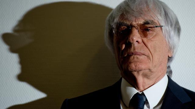 Bernie Ecclestone, le patron de la Formule 1, le 5 août 2014 au tribunal de Munich [Peter Kneffel / DPA/AFP]