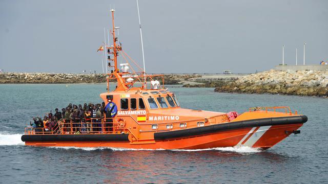 Plus de 600 immigrants clandestins ont été secourus par les services de secours maritimes espagnols en quatre jours [Marcos Morena / AFP]