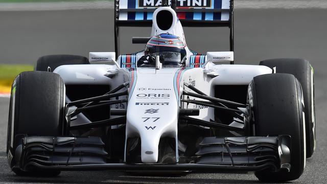 La Williams de Valtteri Bottas sur le circuit de Spa le 22 août 2014 en Belgique  [Ben Stansall / AFP]