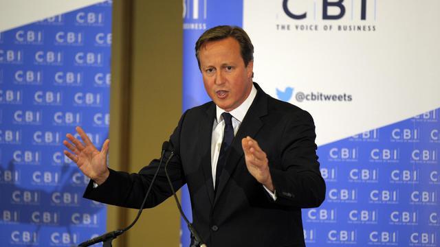 Le Premier ministre britannique David Cameron le 28 août 2014 à Glasgow  [Andy Buchanan / AFP]